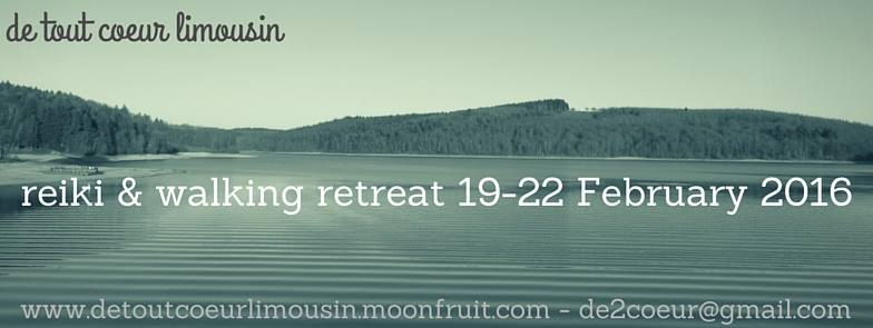 reiki and walking retreat 2016