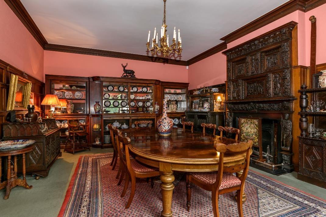 Sugnall Hall Dining Room