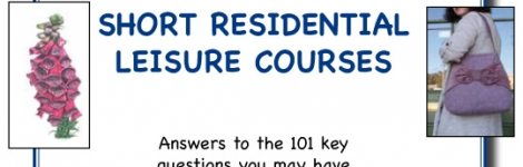101 questions: Short residential courses – download a free copy of the new guide