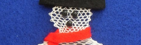 Bobbin Lace for Christmas