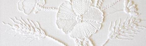 Mountmellick – an Irish 'White of White' embroidery technique