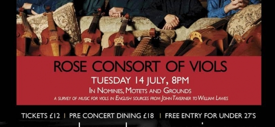 Benslow Music Concert 14 July Hitchin