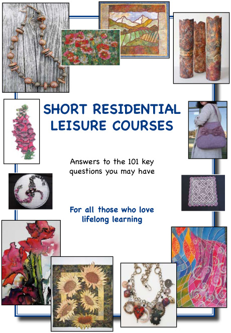 Answers to 101 questions about short residential leisure courses