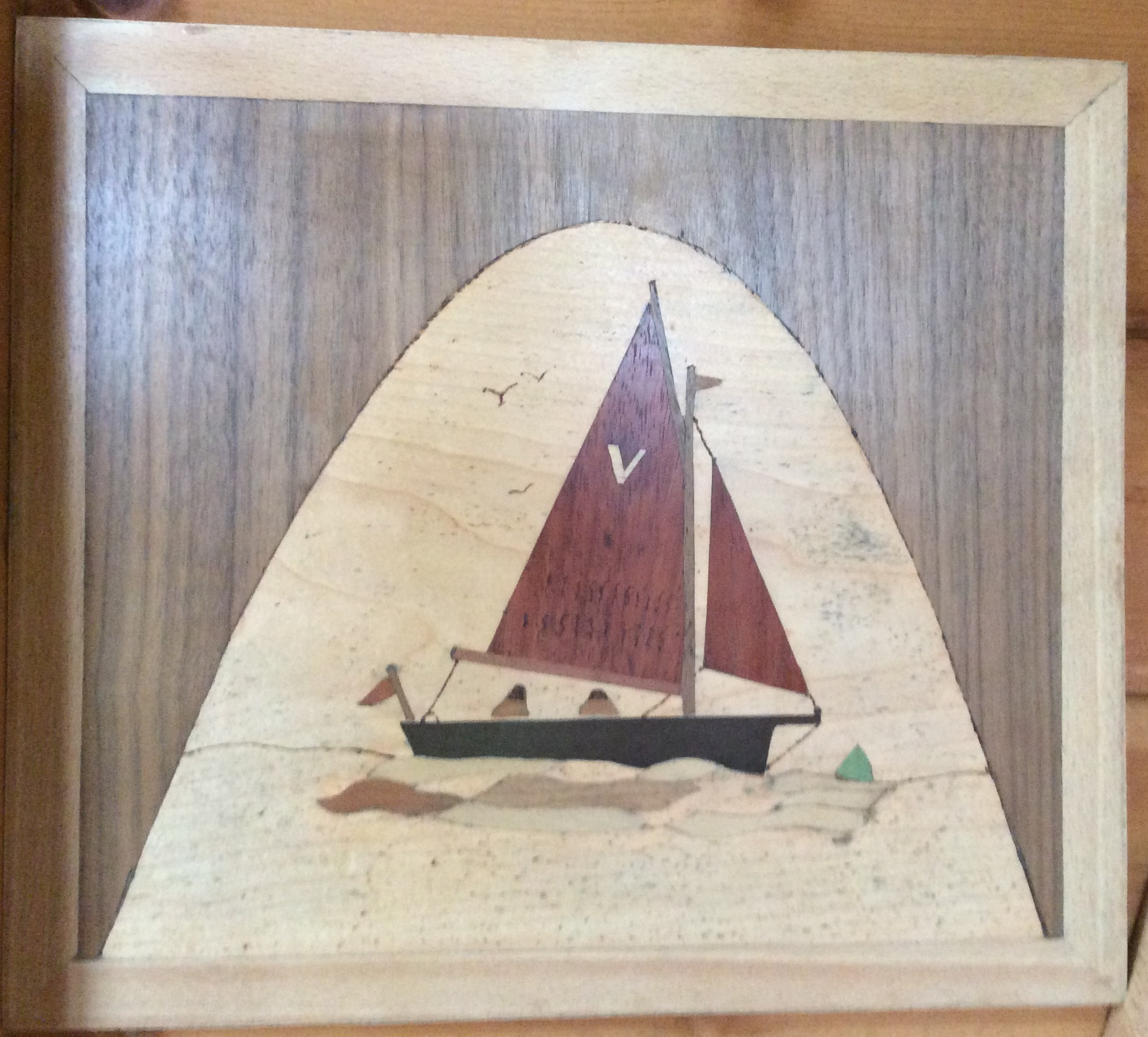 Marquetry student BBA