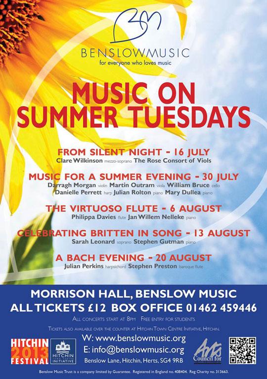 Music on Summer Tuesdays