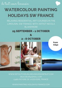 watercolour painting courses